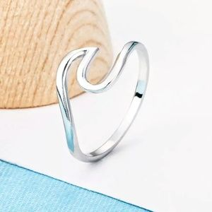 Jewelry - 🌊Tidal Wave Ring Sterling Silver